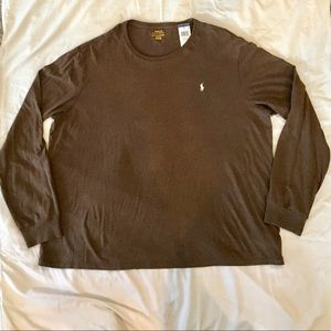 Long Sleeve Polo Tee